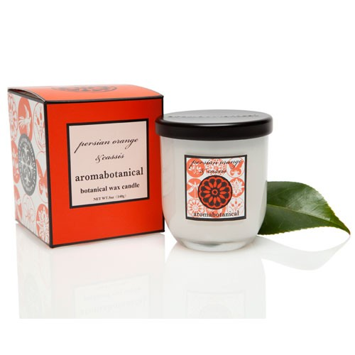Candle in Glass - Persian Orange & Cassis 140g