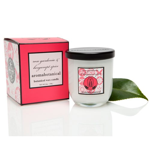 Candle in Glass - Rose, Gardenia & Bergamot 140g
