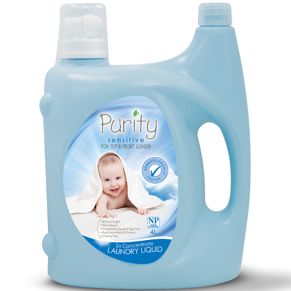 Purity 4L 2x Concentrate Laundry Liquid
