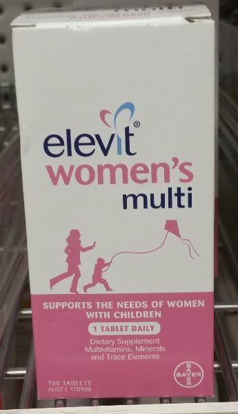 Women's Multi - 100 Tablets