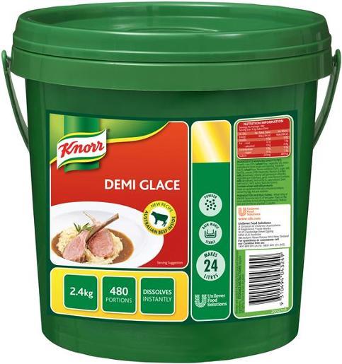 GRAVY SAUCE DEMI GLACE 2.4KG