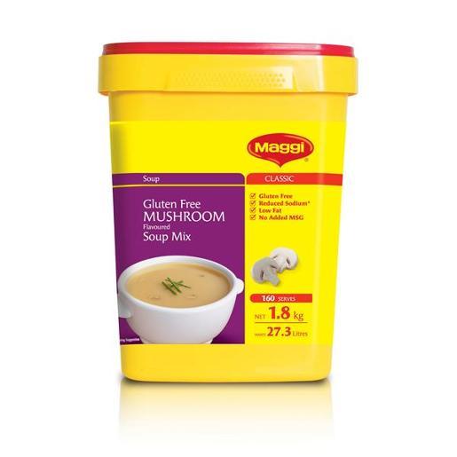 MUSHROOM SOUP 1.8KG