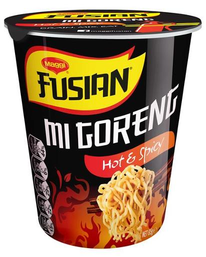 FUSIAN HOT AND SPICY CUP OF NOODLES 65GM