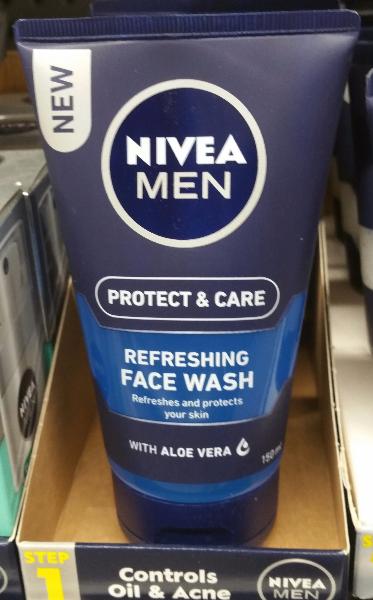 Men Refrshing Face Wash, 150mL
