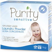 Purity|Sensitive Laundry Powder, Ultra Concentrate, 1kg