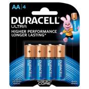 Duracell|AA ULTRA BATTERIES 4 PK