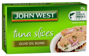 John West|TUNA TEMPTERS SLICES IN OLIVE OIL 125GM