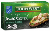 John West|MACKEREL FILLET IN BRINE 125GM
