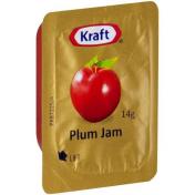 Kraft|PLUM JAM PORTIONS 75X14GM