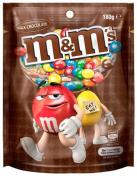M&M's|PLAIN MILK CHOCOLATE 180GM