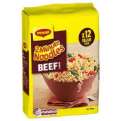 Maggi|BEEF NOODLE 2 MINUTE 12X74GM